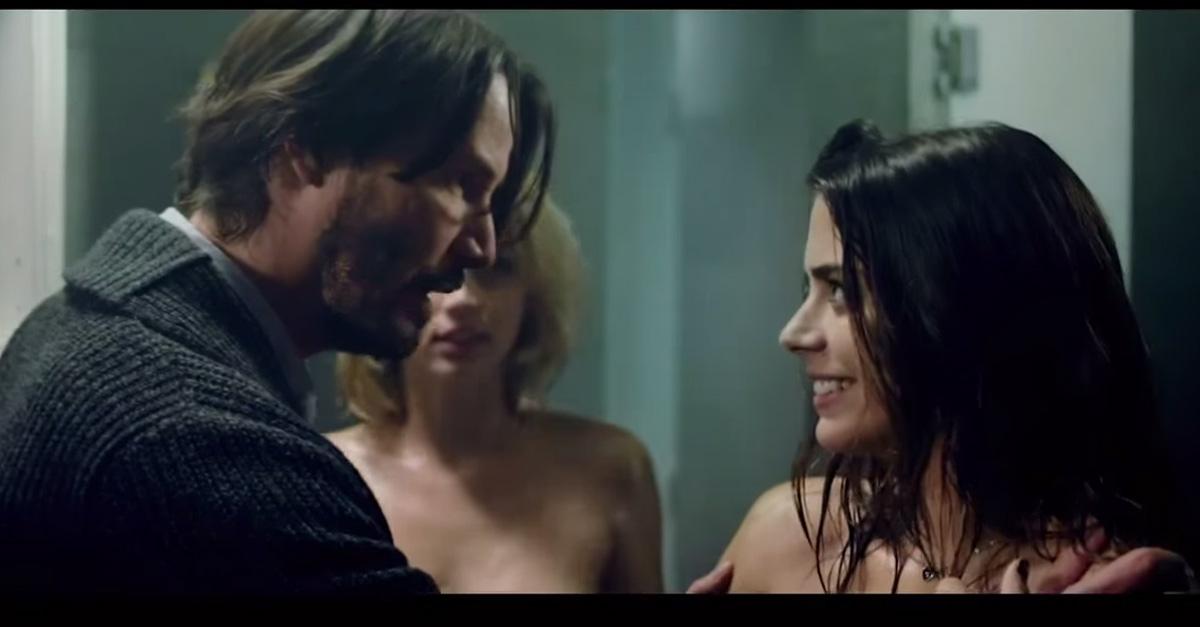 Se due ragazze vogliono fare l'amore con te, scappa! Ecco perchè nel nuovo film con Keanu Reeves