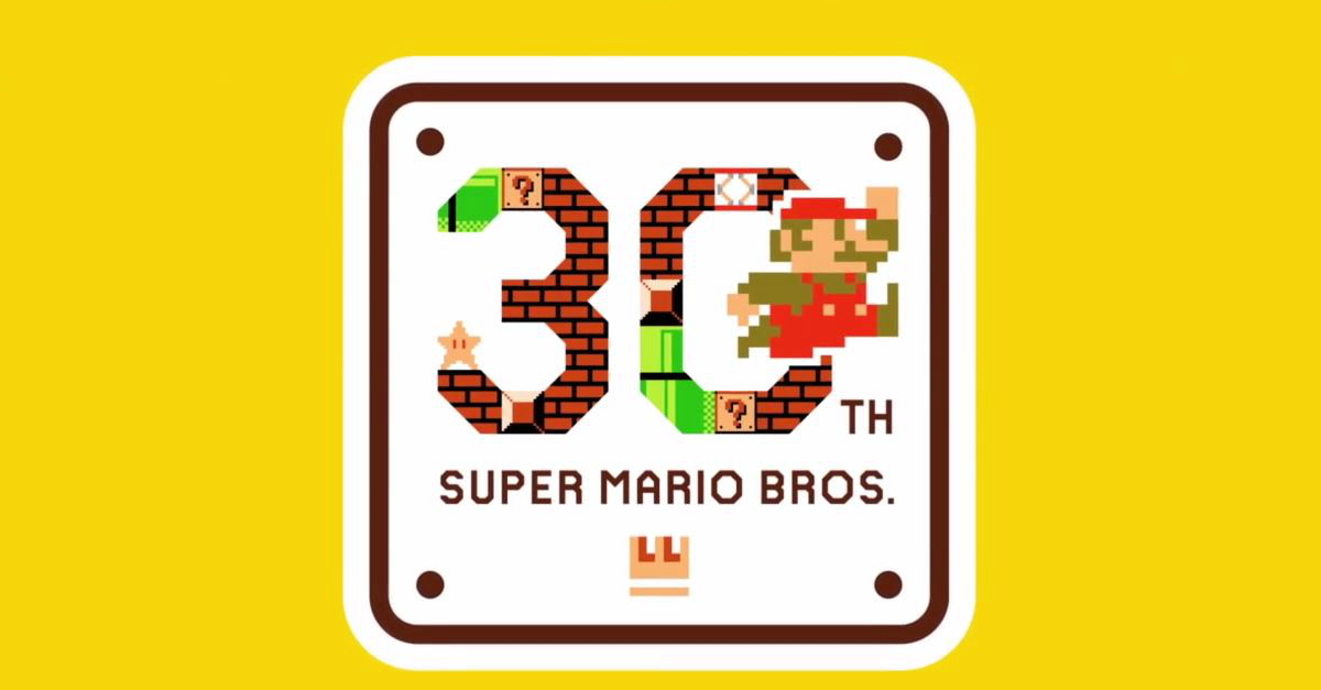 Super Mario compie 30 anni, Nintendo lo festeggia con un video speciale