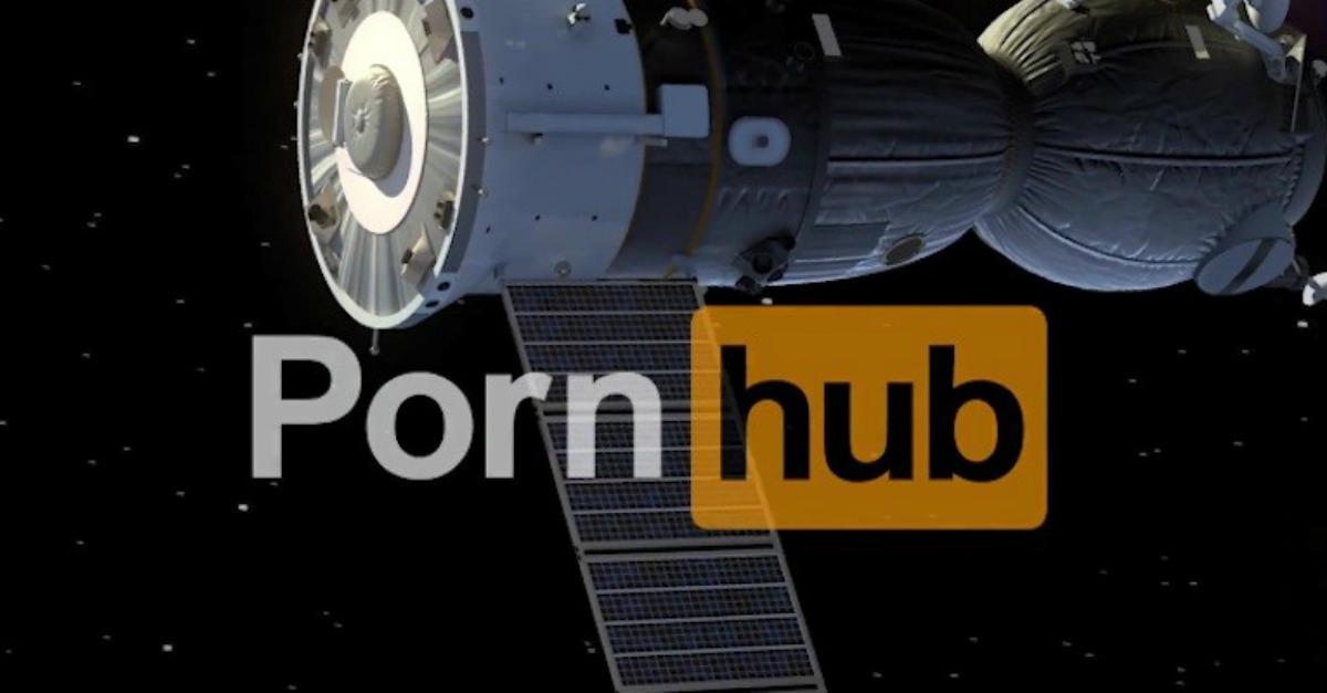 PornHub va in orbita: ecco il primo film hard ambientato nello spazio