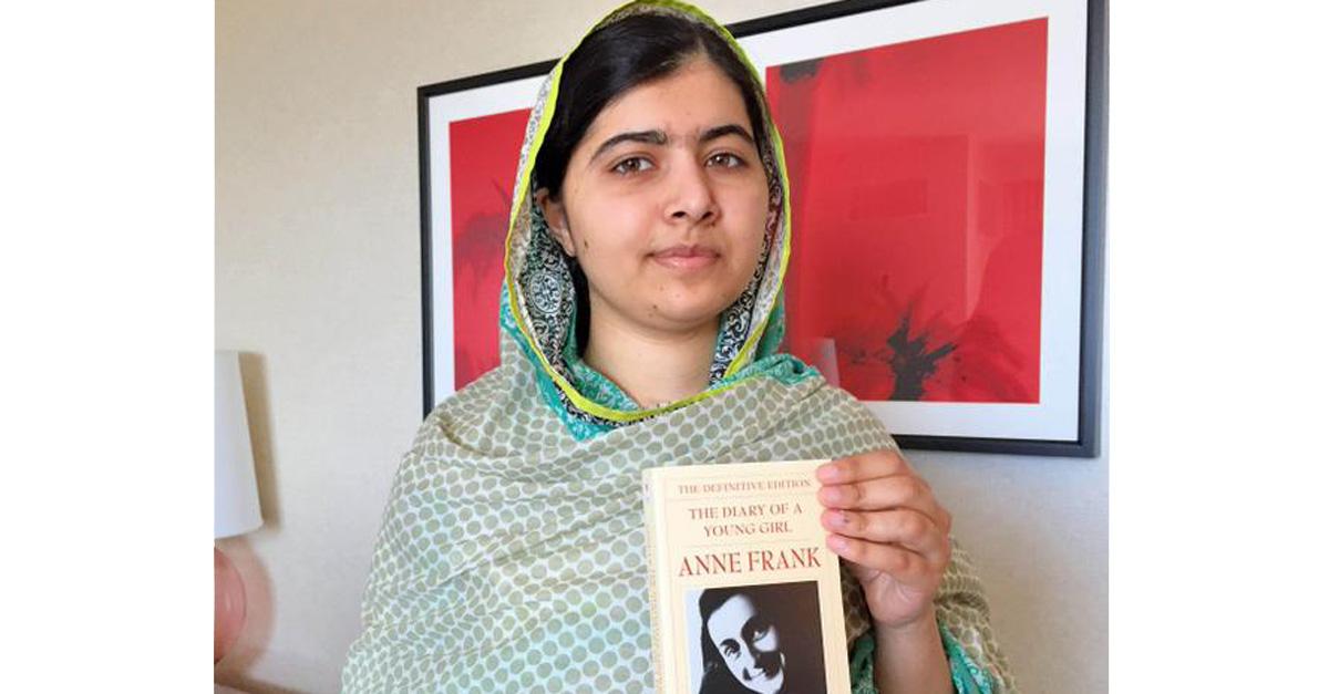 Malala: 'Se a un bambino, che soffre di povertà e difficoltà, non viene dato un libro, questo raccoglierà un'arma'