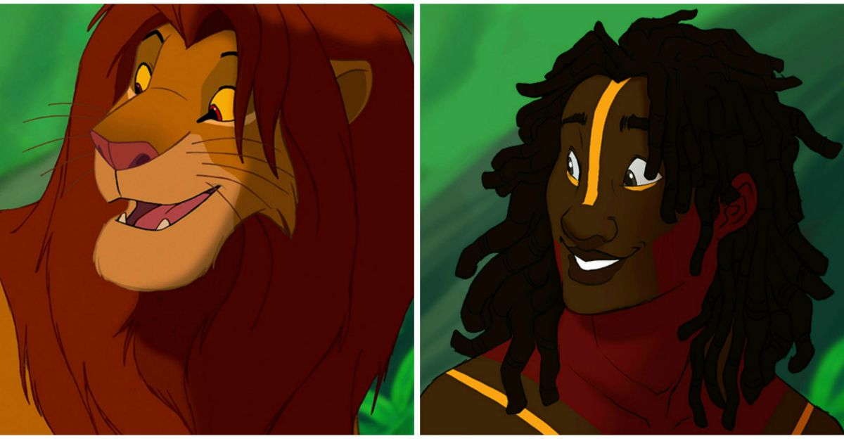 E se gli animali della Disney fossero esseri umani?