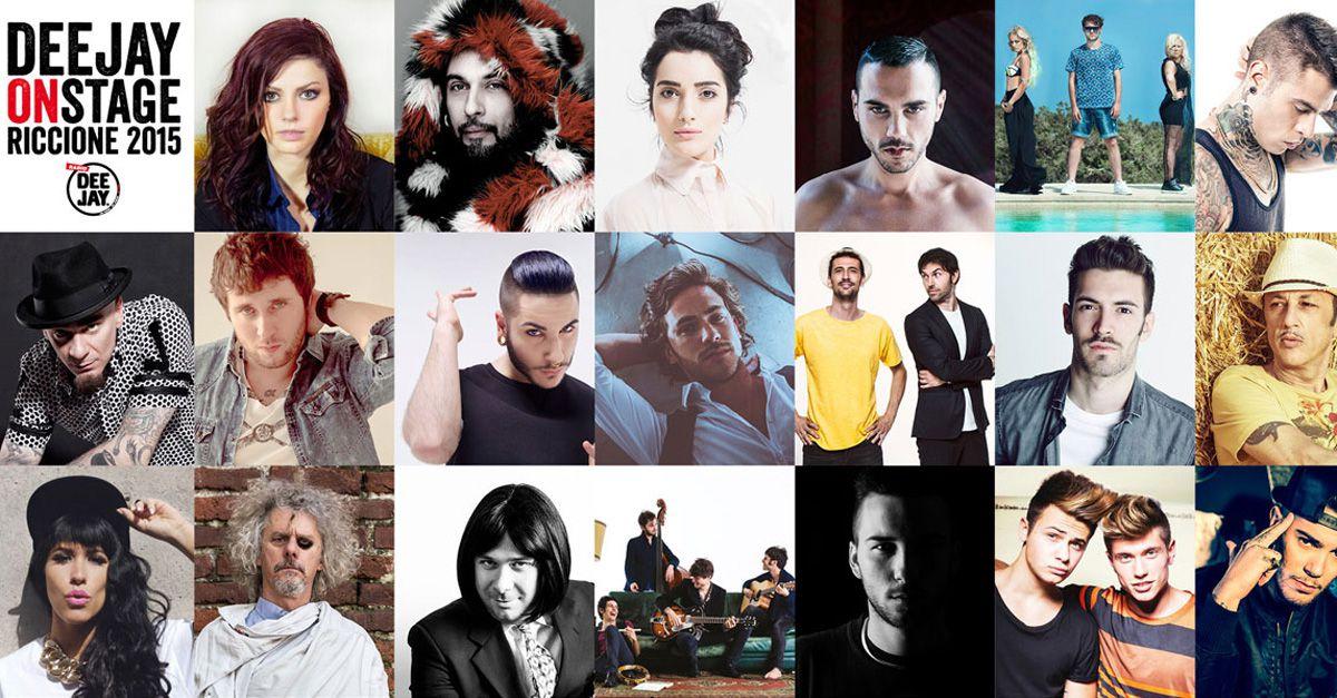 Deejay on stage Riccione 2015, ecco tutti i concerti imperdibili e gratuiti