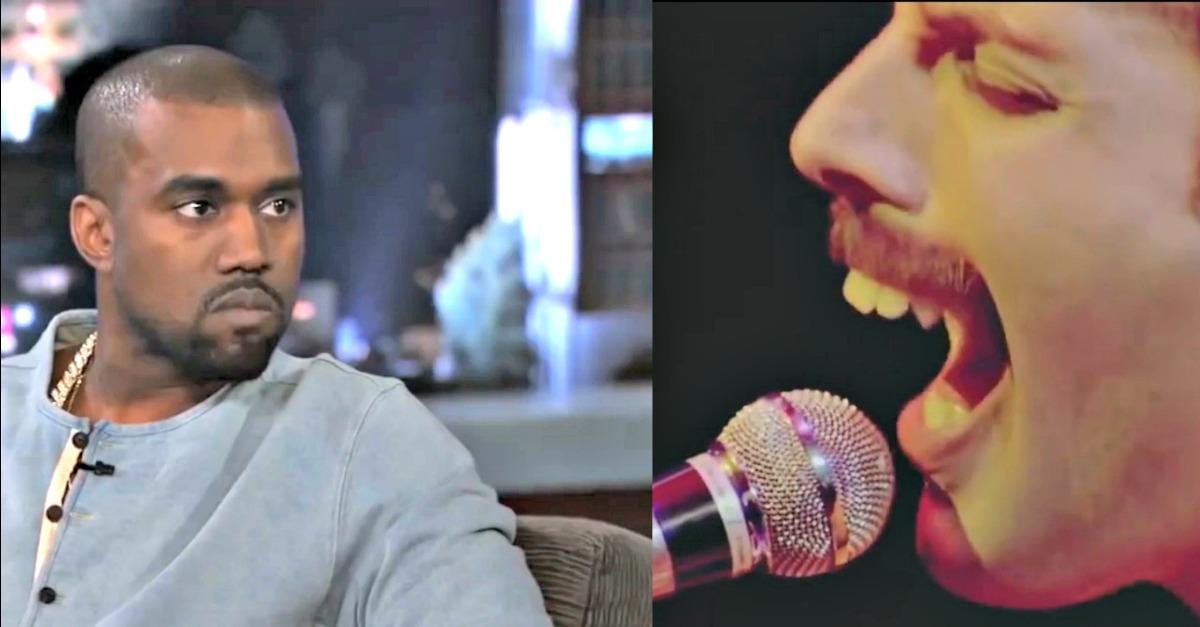 Glastonbury. Kanye West canta Bohemian Rhapsody, ecco come avrebbe reagito Freddie Mercury