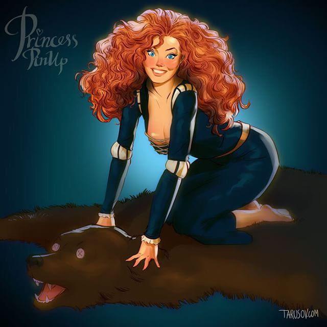 Le Principesse Disney Si Trasformano In Pin Up Supersexy Disegni