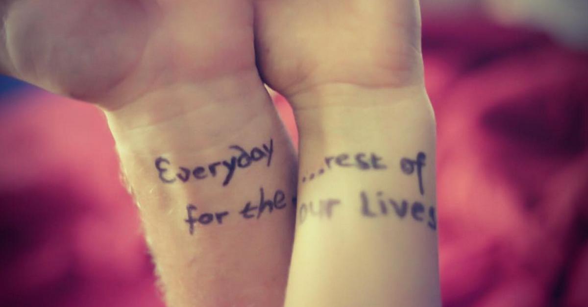 Perché non possiamo mai smettere di amare del tutto chi abbiamo già amato