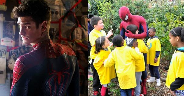 Supereroi al cinema, eroi ancora più super nella vita reale