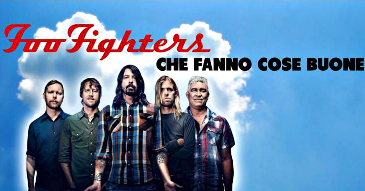 "La ""bontà"" dei Foo Fighters: la parodia è una pagina Facebook"