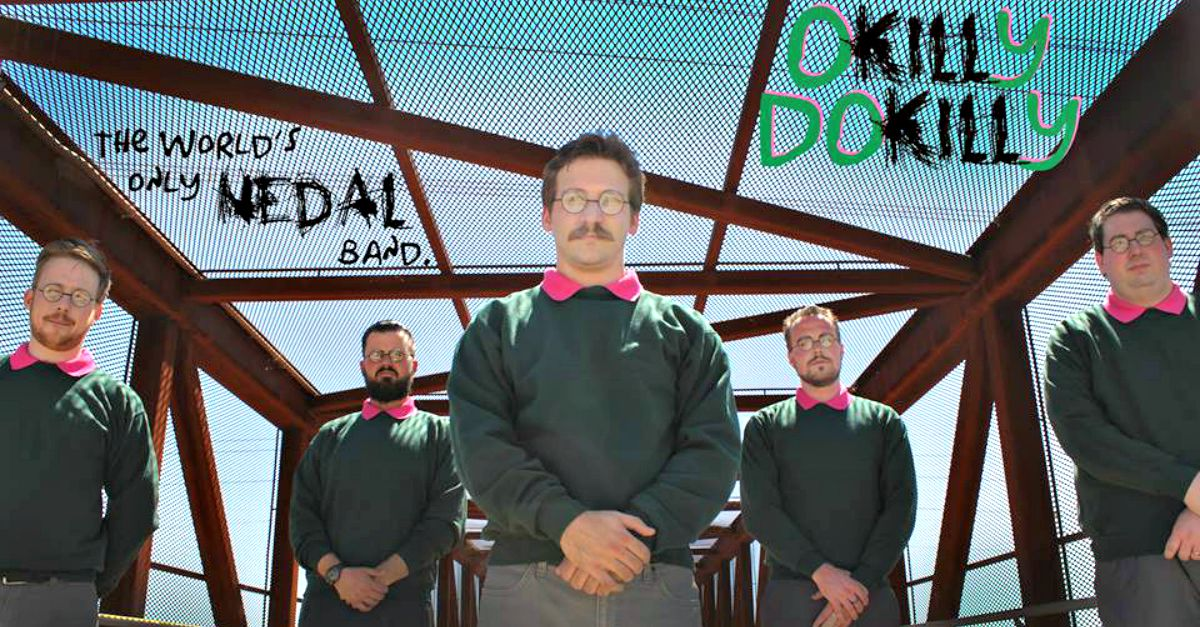 Cinque Ned Flanders formano una band metal. Si chiamano Okilly Dokilly