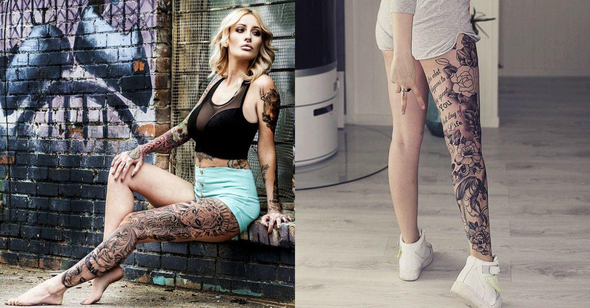 Siamo bad girl, oltre le gambe c'è il tattoo: 20 stacchi di coscia vietati ai benpensanti