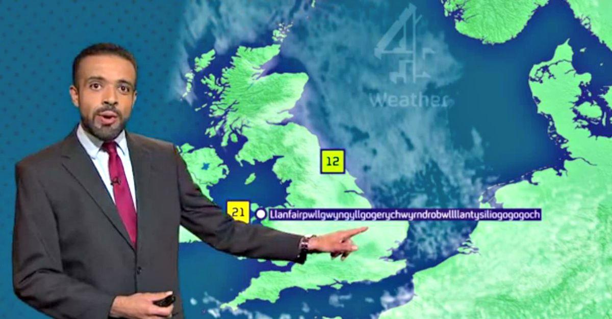 L'impresa del meteorologo: pronuncia senza intoppi il nome del comune più lungo d'Europa