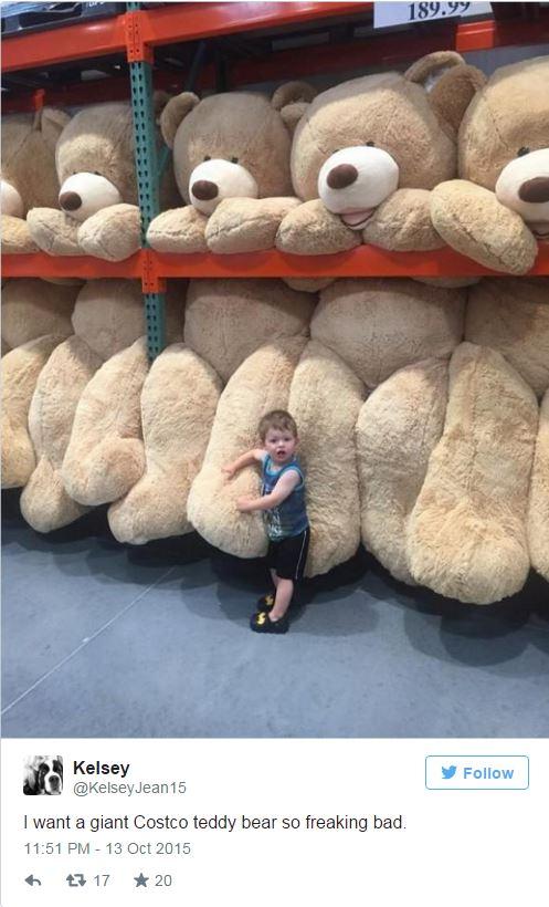 orso peluche gigante 3 metri