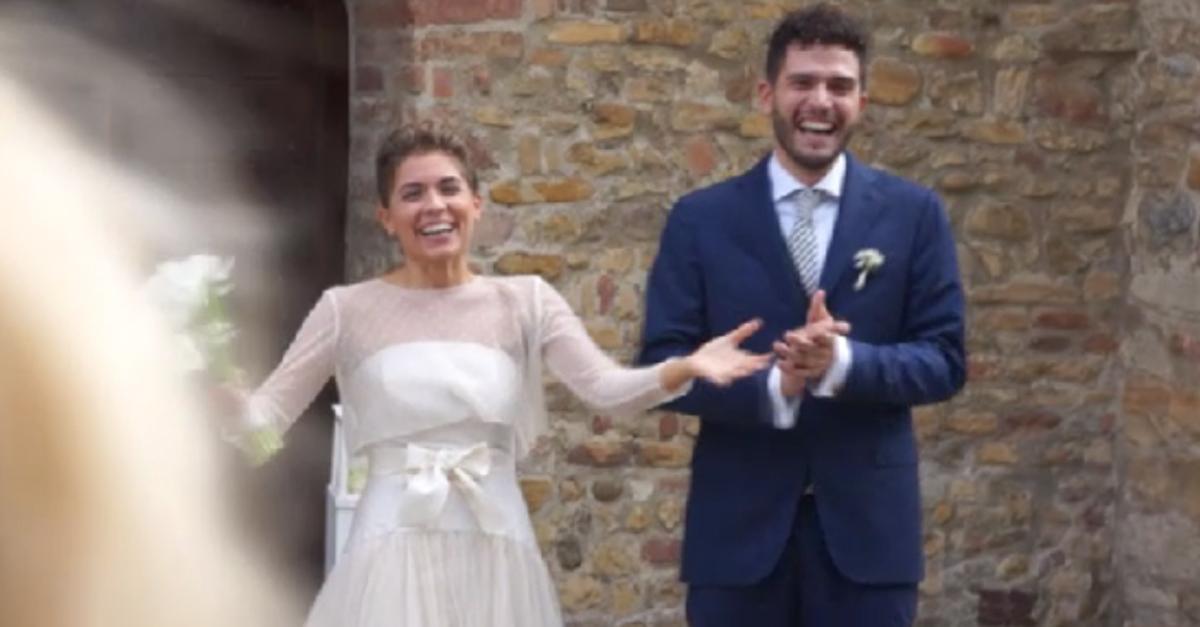 La Pina, Diego e La Vale si presentano a sorpresa al matrimonio di un'ascoltatrice