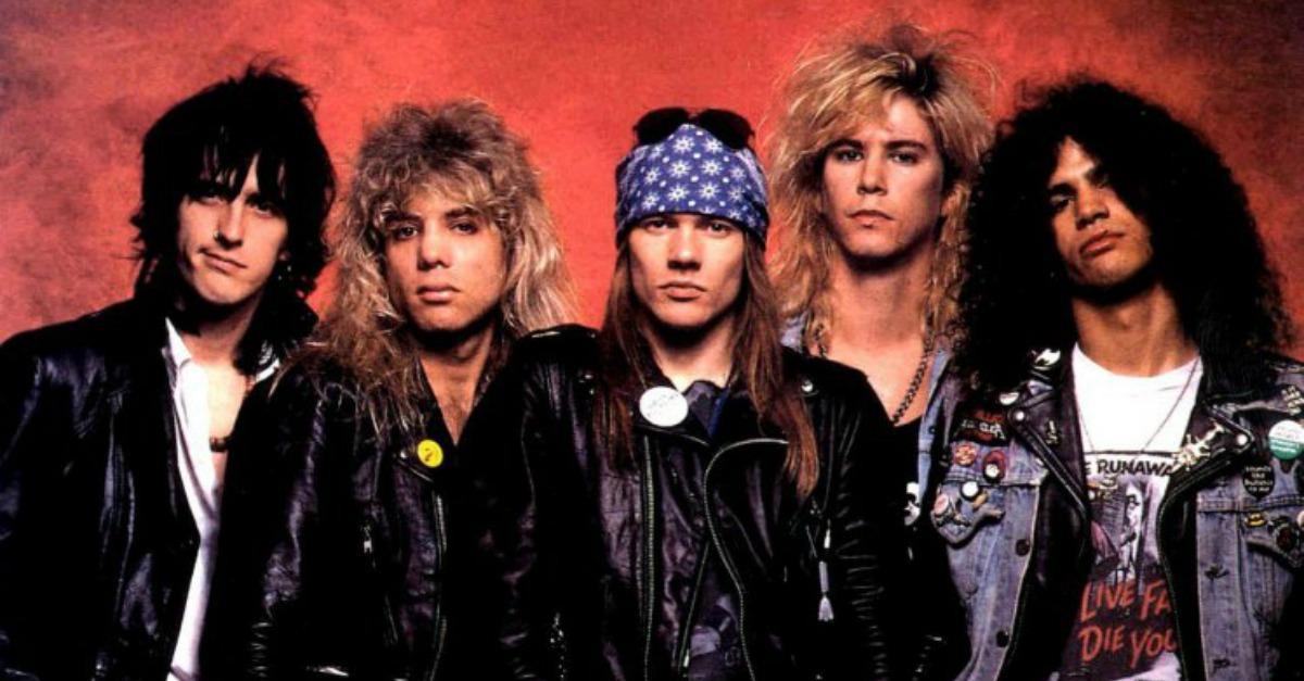 """Quando """"Appetite For Destruction"""" dei Guns N' Roses uscì negli USA. Le curiosità sull'album"""
