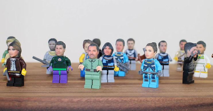 Il Lego con la tua faccia, l'omino è personalizzato