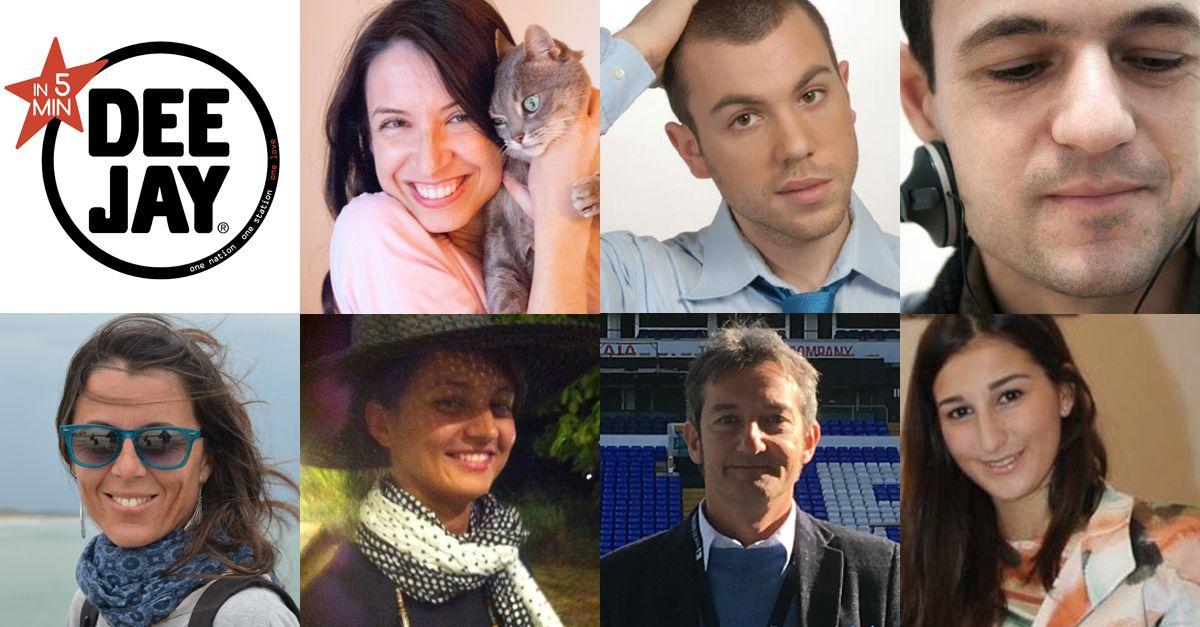 #In5minutisuDeejay La Pina, Diego e la Vale intervistano gli ascoltatori in 5 minuti – Puntata del 23 Marzo
