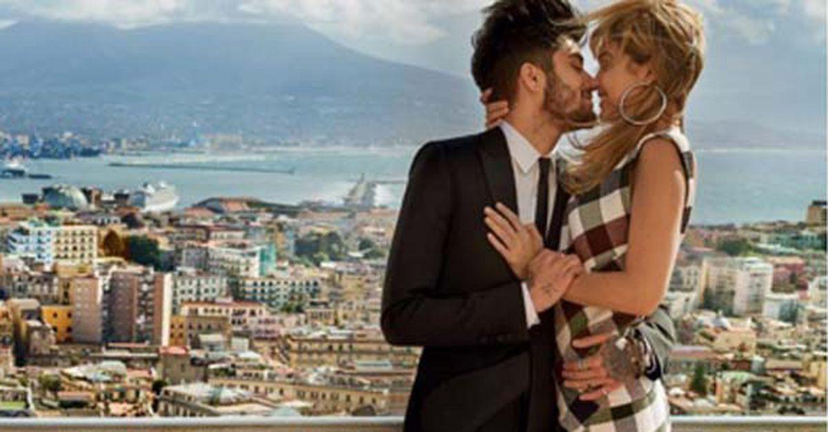 Zayn Malik e Gigi Hadid, innamoratissimi a Napoli