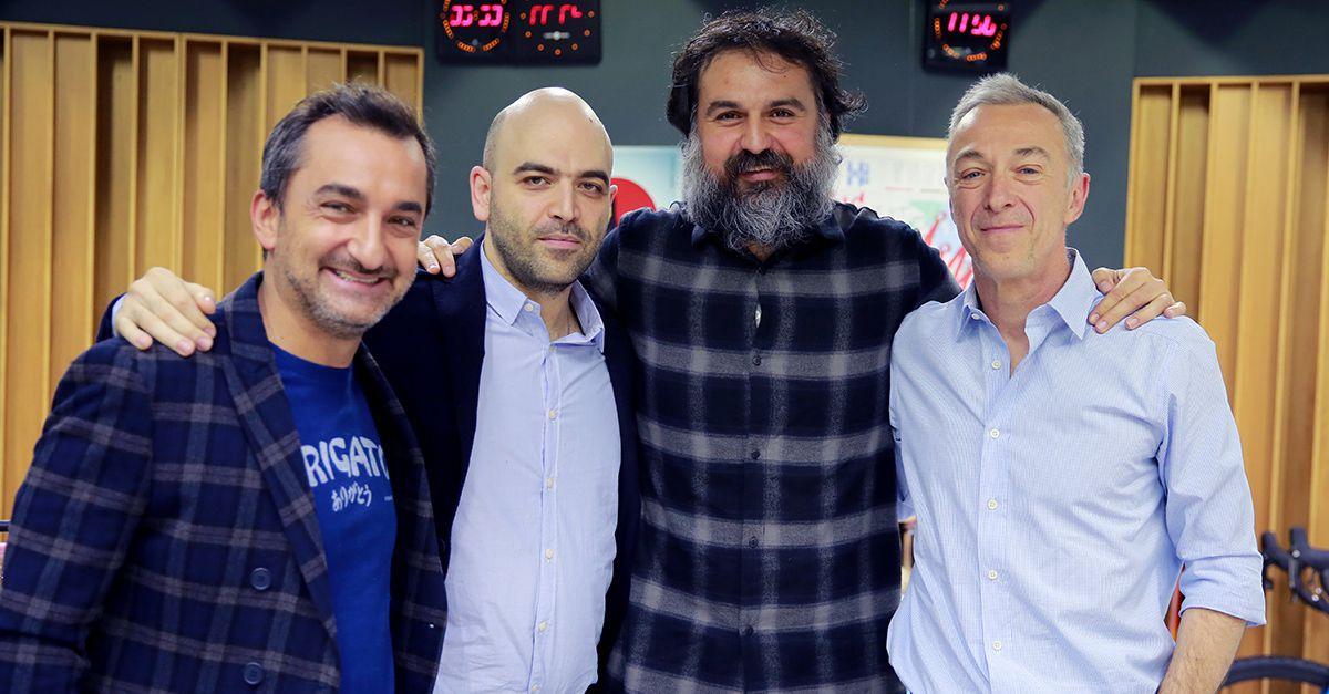 Saviano e Borrelli a teatro con un San Gennaro rock'n roll
