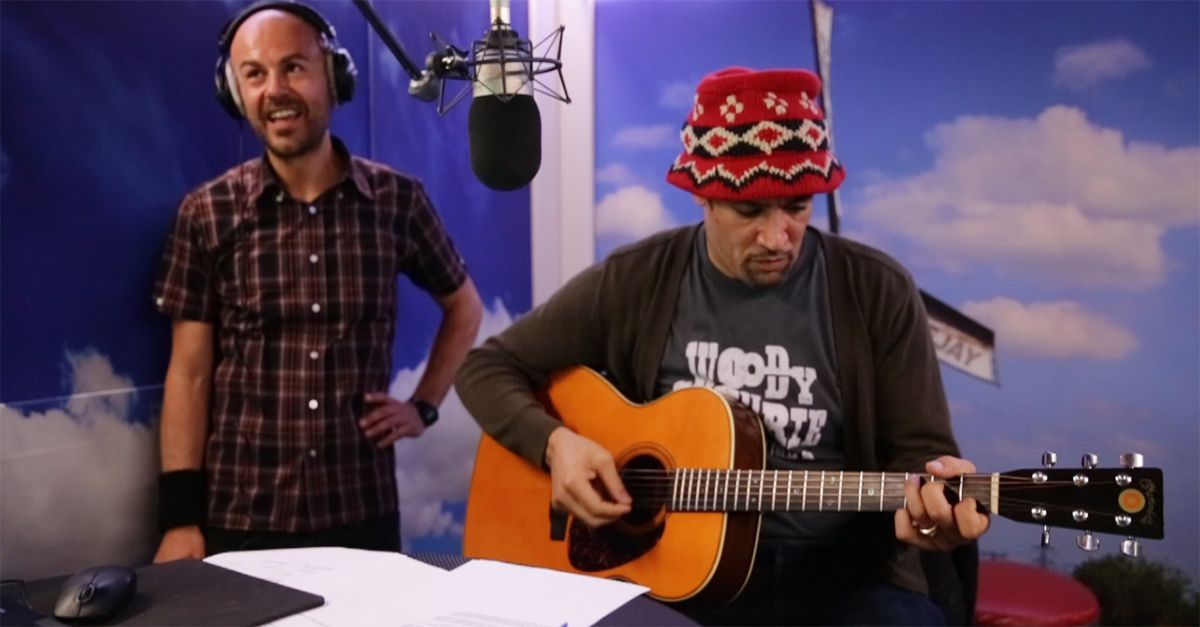 Ben Harper dal vivo a Tropical Pizza