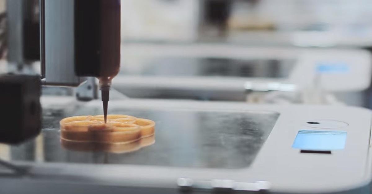 Londra: il primo ristorante in cui si cucina con la stampante 3D