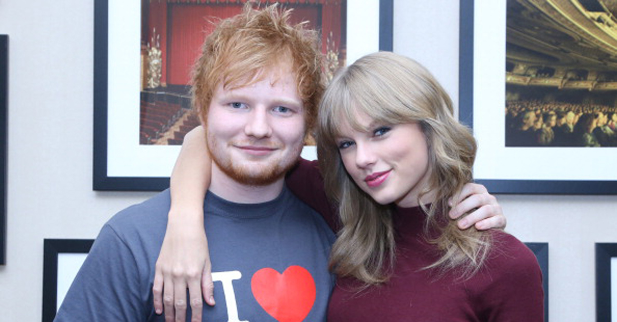 Photobombing: riuscite a trovare Ed Sheeran nello scatto Instagram di Taylor Swift?