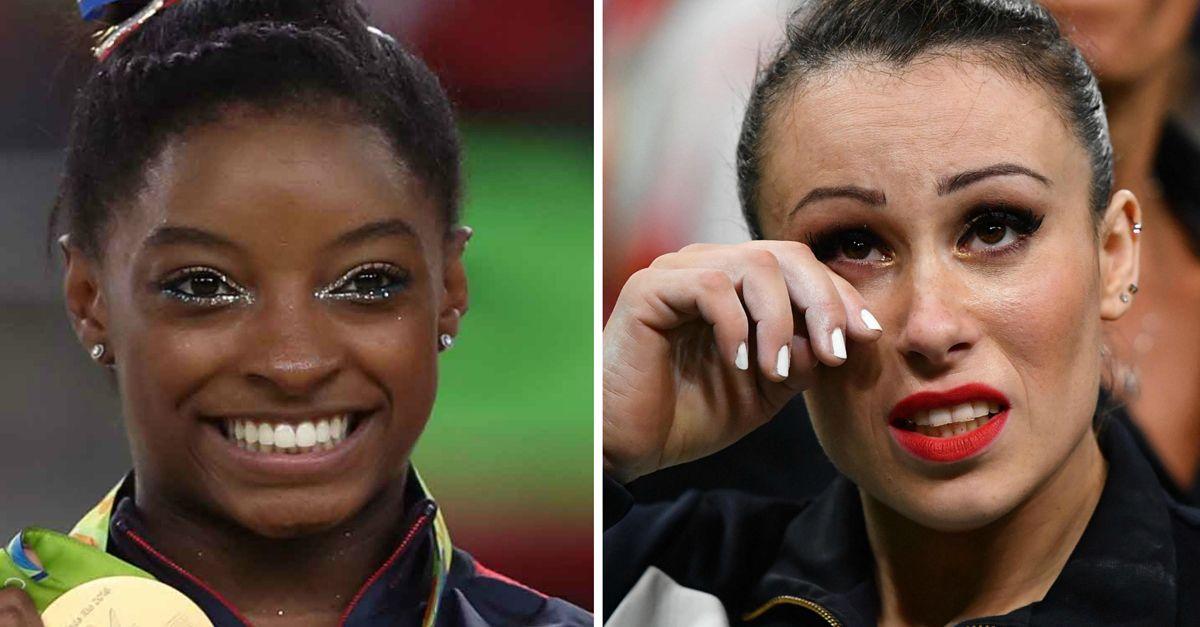 Rio 2016: ginnastica, la gioia di Simone Biles e il dolore di Vanessa Ferrari