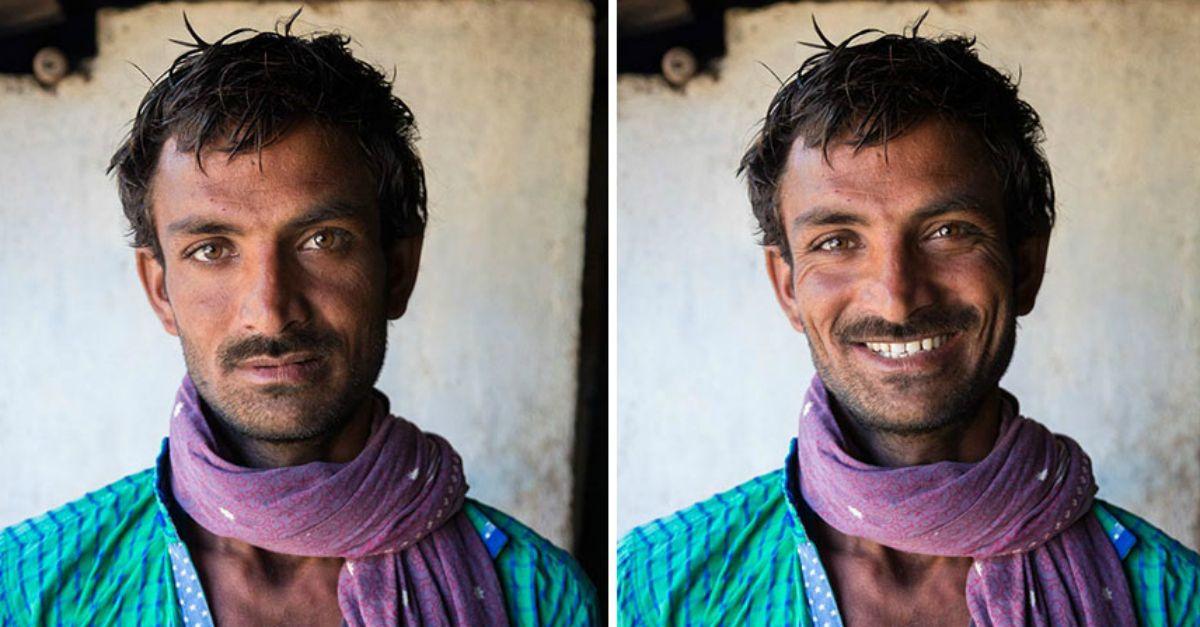 """""""Poi gli ho chiesto di sorridere"""": il progetto che cambierà il tuo modo di guardare gli sconosciuti"""