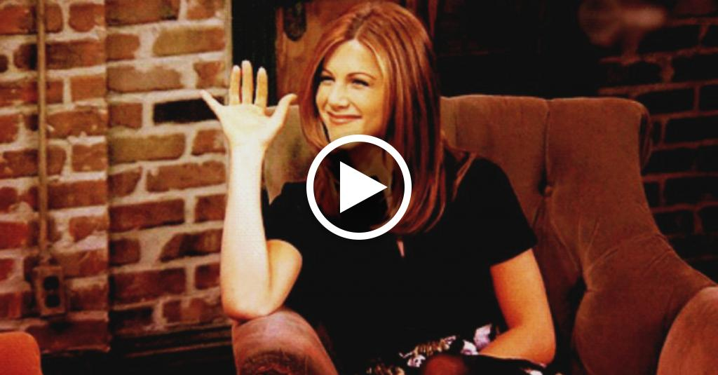 10 GIF di Jennifer Aniston quando scopre del divorzio dell'ex marito Brad Pitt