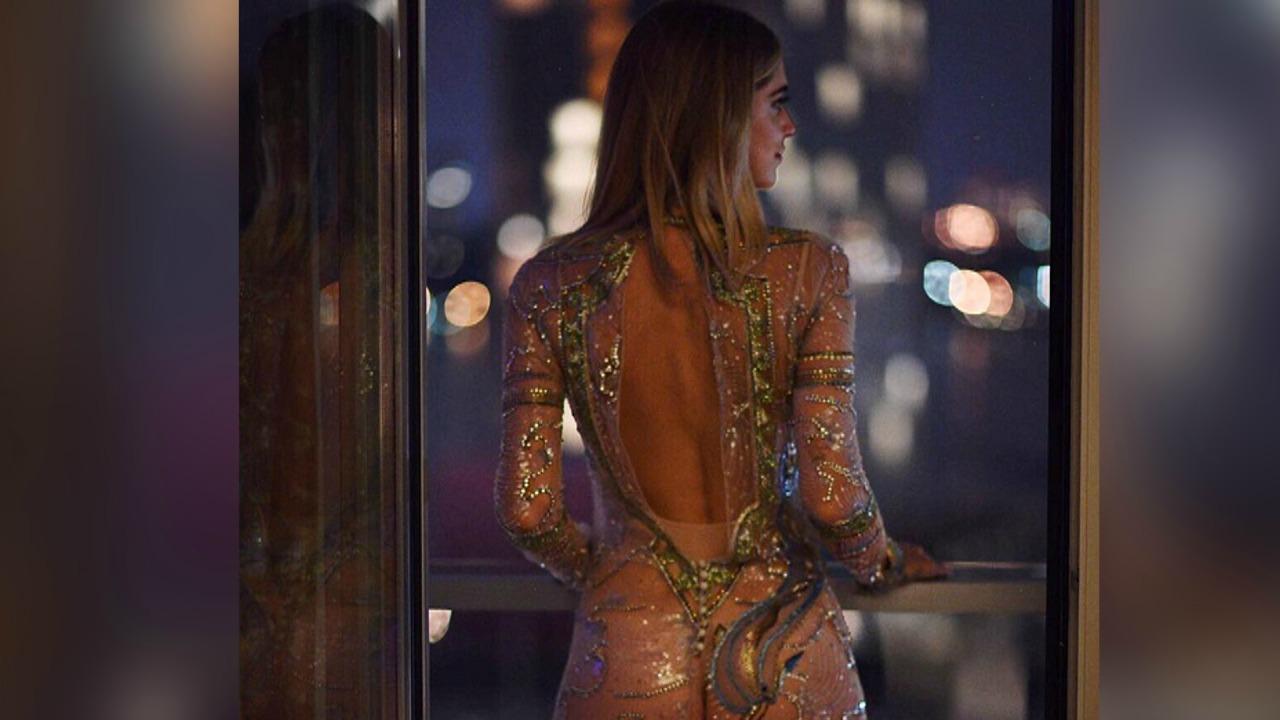 Chiara Ferragni, nude look a New York: gli scatti su Instagram