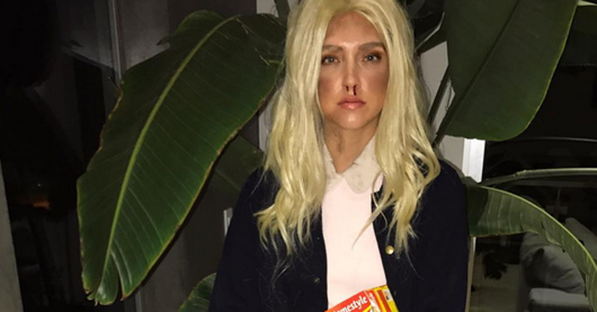 Halloween, Chiara Ferragni è Undici di Stranger Things