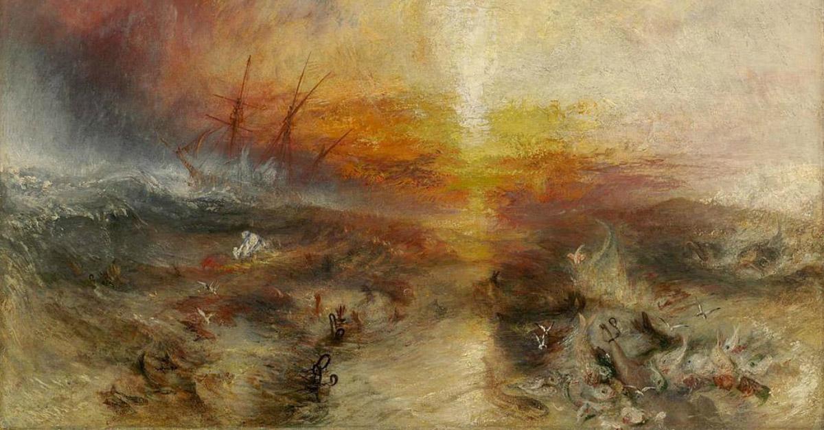 Dee Giallo e il massacro della Zong: dal quadro di Turner alla tratta degli schiavi