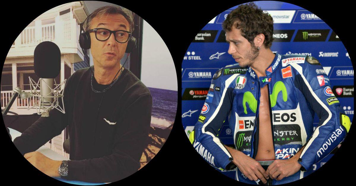 """Valentino Rossi si mette a nudo da Albertino: """"Ecco cosa indosso sotto la tuta"""""""