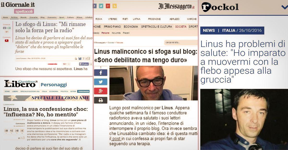 """""""Il caso tallone"""": Linus spazza via il polverone sollevato dal blog"""