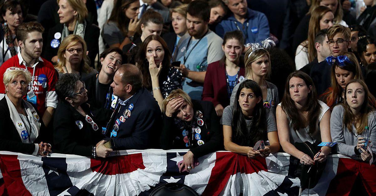 Elezioni Usa, lo sconforto dei sostenitori di Hillary Clinton: LE FOTO
