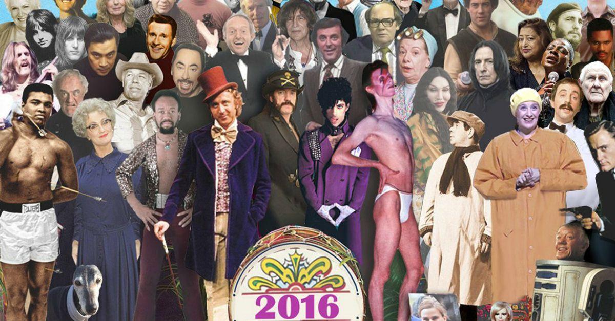 2016, anno funesto per la musica: le star che ci hanno lasciato sulla copertina di 'Sgt. Pepper's'