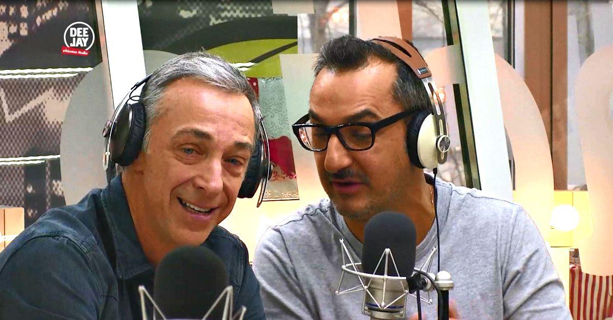 """""""Ciao Bruna"""", Linus ringrazia in diretta gli ascoltatori per la dimostrazione d'affetto"""