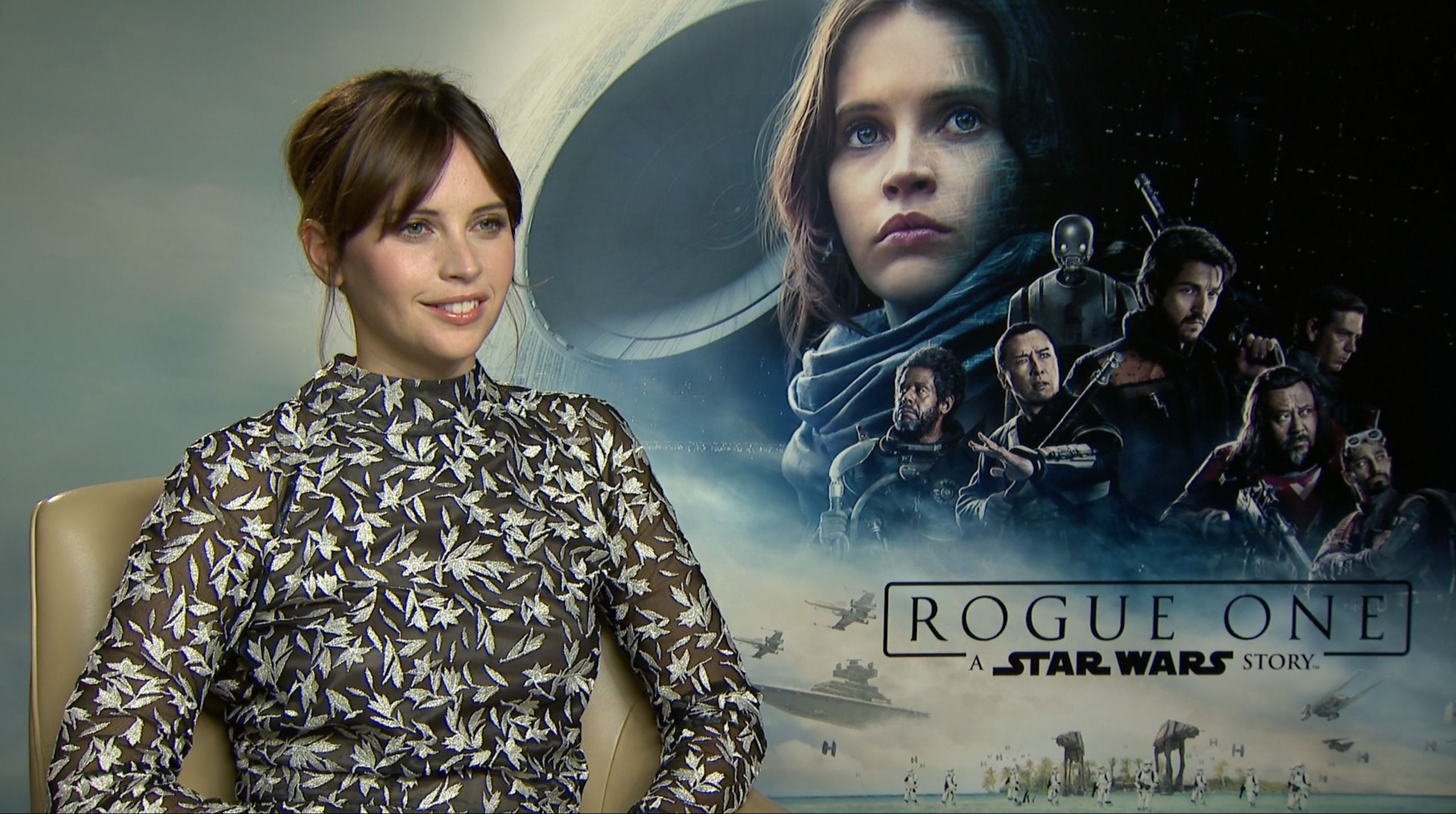 """Qual è il primo suono che vi viene in mente pensando a Star Wars? Rispondono i protagonisti di """"Rogue One"""""""