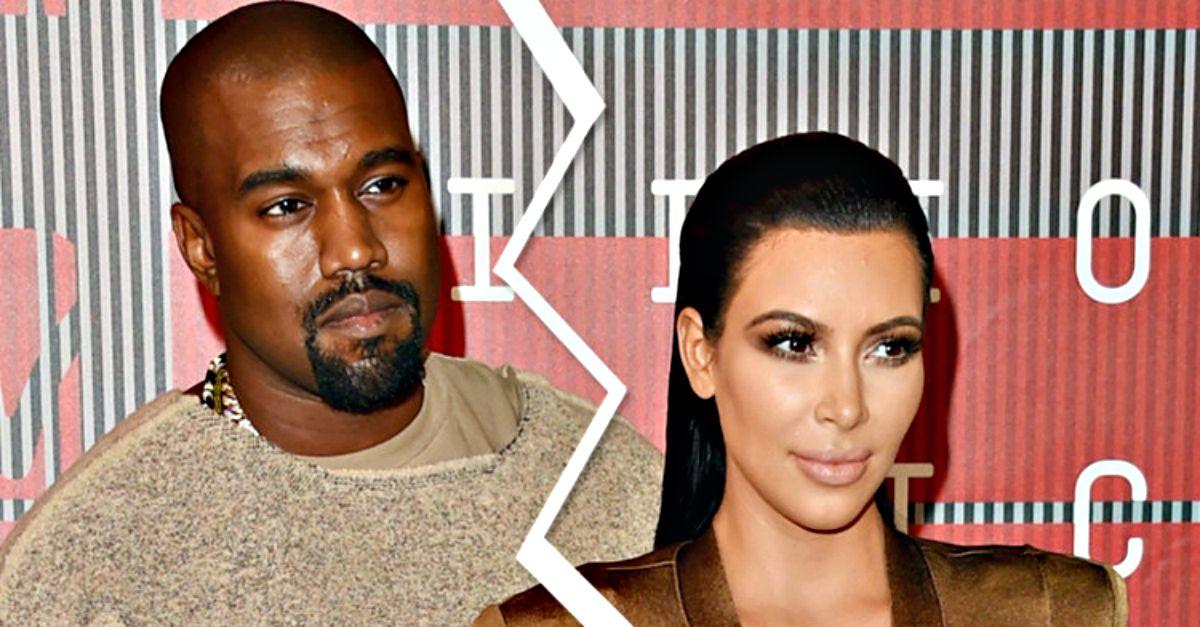 È finita tra Kim Kardashian e Kanye West? I due hanno passato il Natale separati