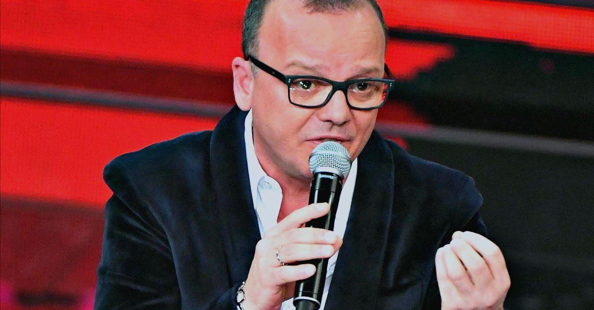 """Gigi D'Alessio chiarisce con Linus la polemica su Sanremo: """"Non ce l'ho con te, ti voglio bene"""""""