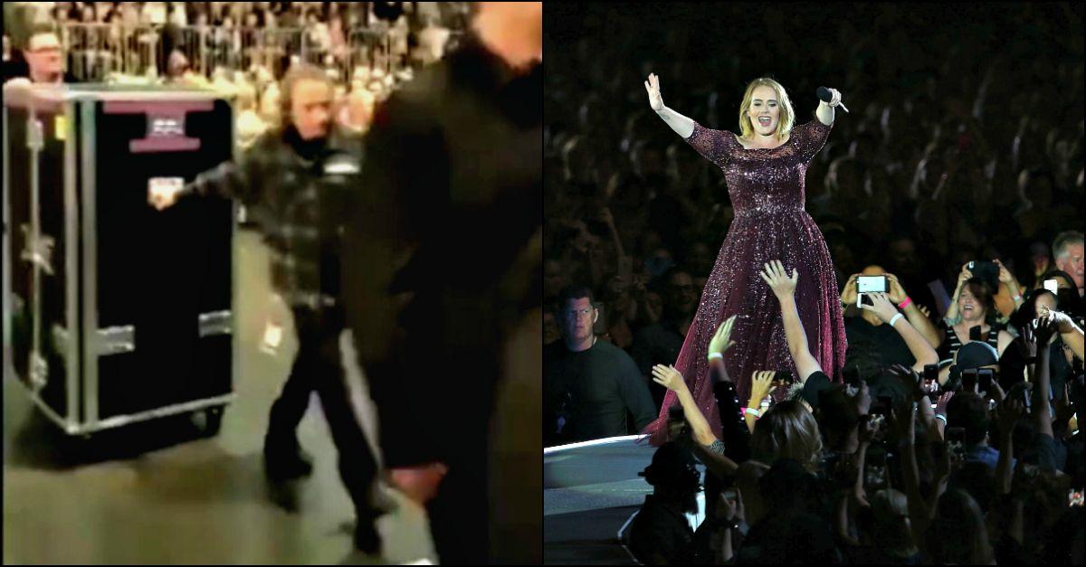 """Adele nel baule: """"Ecco perchè comincio sempre i concerti sudata fradicia"""""""