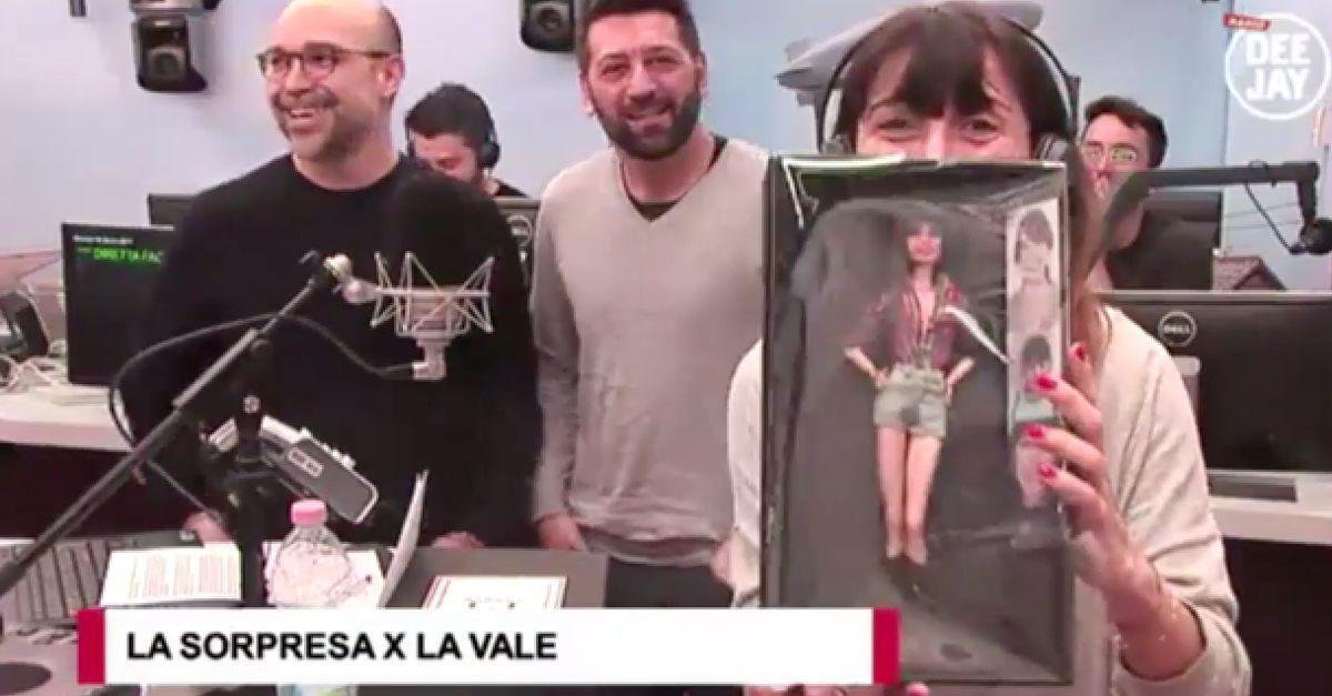La Vale compie 40 anni e diventa una Barbie: la sorpresa in diretta a Pinocchio