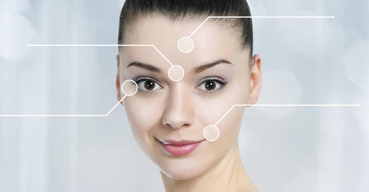 La Mappa dei brufoli: ogni zona del viso corrisponde ad un problema di salute