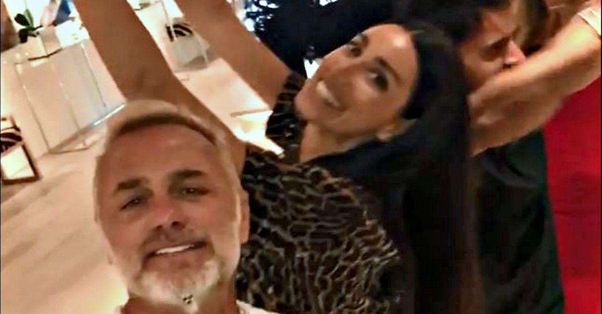 Despacito e tagliatelle: Gianluca Vacchi balla con Luis Fonsi dopo un piatto di pasta al ragù