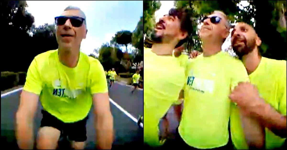 In bici con Linus dentro la Deejay Ten di Firenze: tutta la corsa in 5 minuti