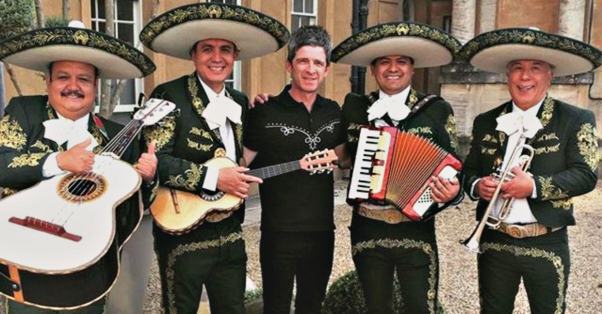Noel Gallagher: alla festa per i suoi 50 anni c'erano Bono, Madonna, Albarn e… i mariachi