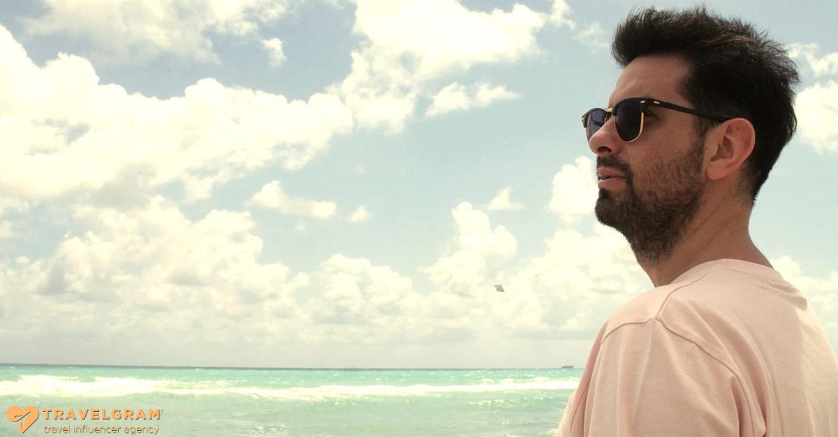 Ale Lippi a Miami per Travelgram Italia