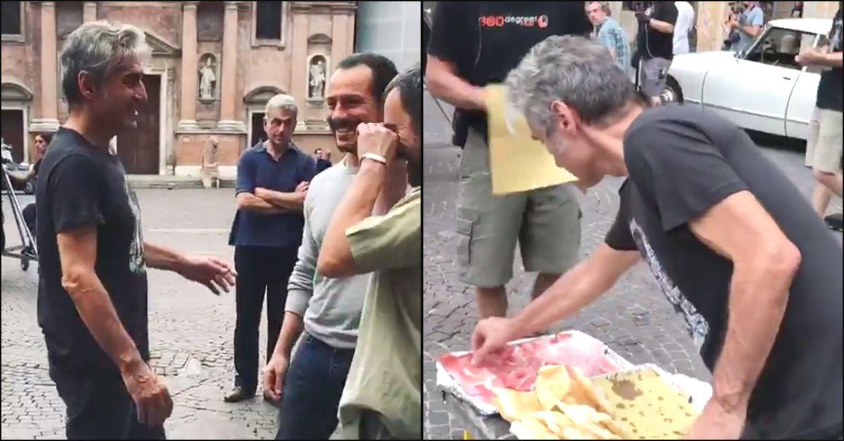 Reggio Emilia. Sul set con Luciano Ligabue, tra Stefano Accorsi e lo gnocco fritto. Tutto #Madeinitaly