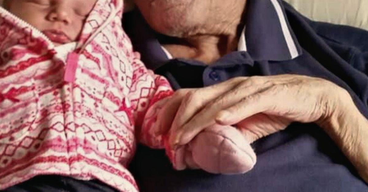 """""""Prometto di vederla prima di andarmene"""": quando l'amore di un nonno batte la malattia più brutta"""