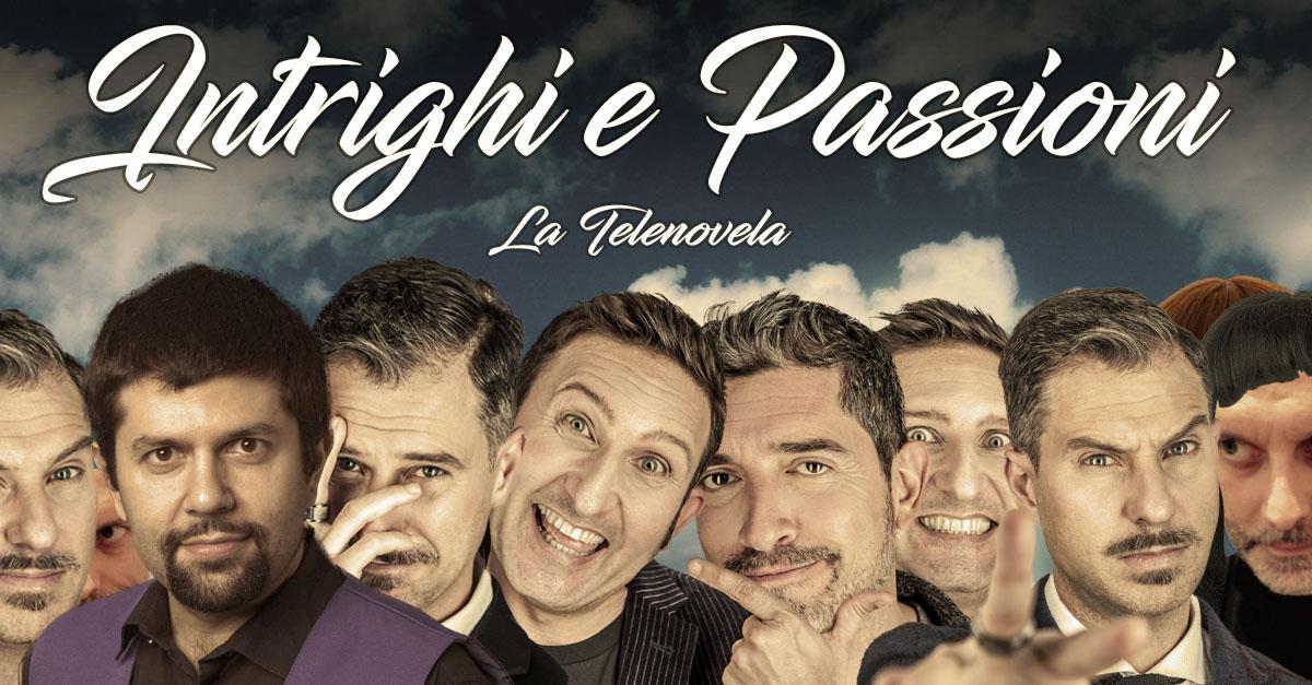 """""""Intrighi e Passioni"""": la soap opera del Trio Medusa. Tutti i personaggi"""