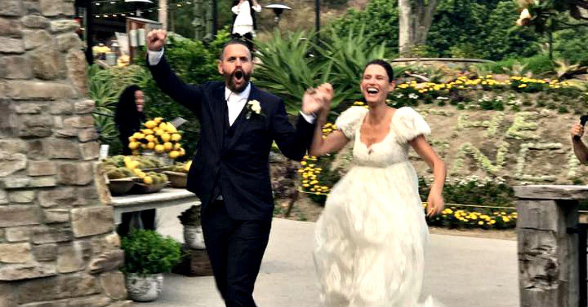 Matrimonio In Segreto : Bianca balti le foto del matrimonio segreto radio deejay