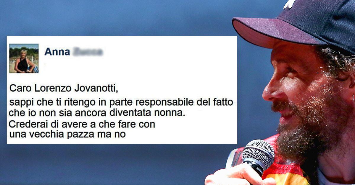 """L'ironica lettera di una mamma a Jovanotti: """"Hai alzato troppo gli standard di mia figlia"""""""